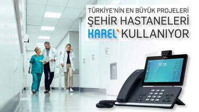 Türkiye'nin En Büyük Projeleri, Şehir Hastaneleri, Karel Kullanıyor