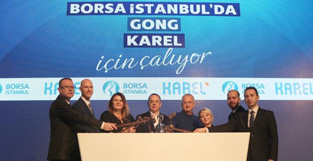 Karel, Borsa İstanbul Açılış Gongunu Çaldı