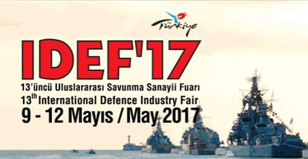 Karel, IDEF'17 Uluslararası Savunma Sanayii Fuarında