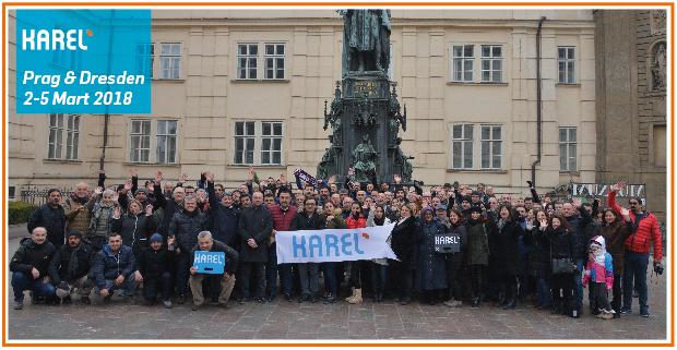 Karel Yetkili Satıcıları ile Prag ve Dresden'deydi