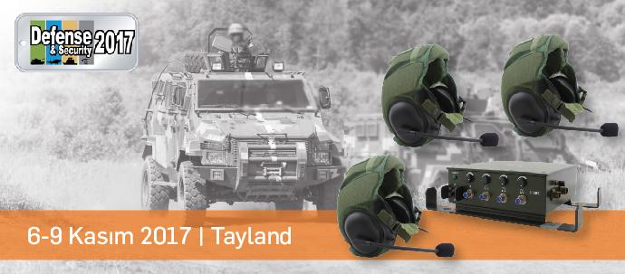 karel tayland savunma fuarında