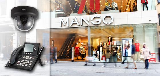 Mango magazaları iletişim ve güvenlik