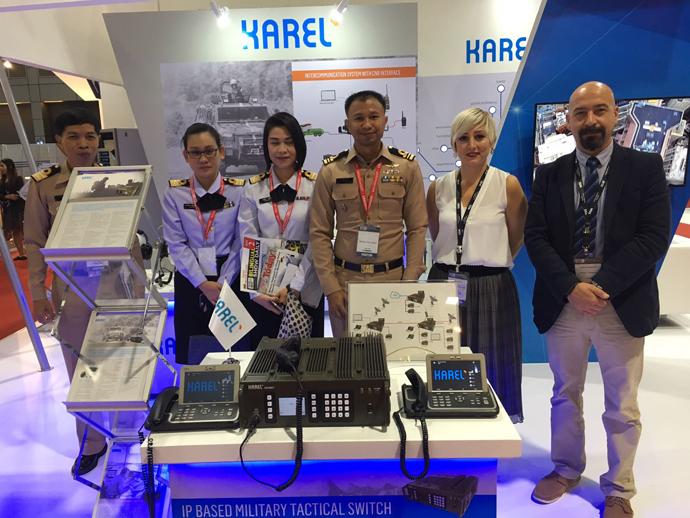 karel Türk malı savunma sanayi askeri iletişim cihazları