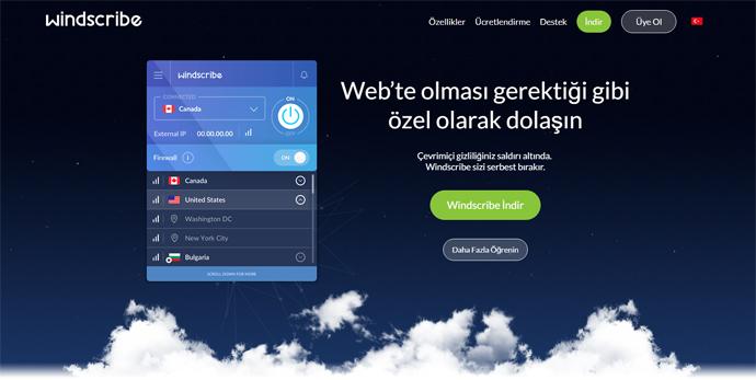en iyi ücretsiz vpn Windscribe