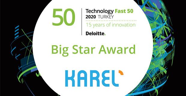 Karel, Deloitte Teknoloji Fast 50'de İki Ödül Birden Kazandı