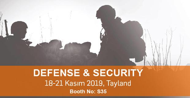 Karel, Defense & Security 2019 Tayland Fuarında