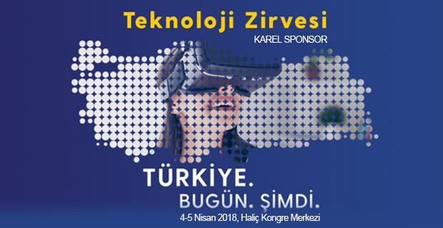 Karel, Teknoloji Zirvesi 2018 Sponsoru