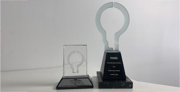 Karel'e TESİD'den Yenilikçilik Yaratıcılık Ödülü
