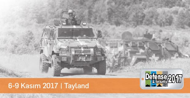 Karel Savunma Çözümleri Defense & Security 2017 Tayland Fuarında